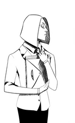 human!Momotaro sketch by Shirogane23