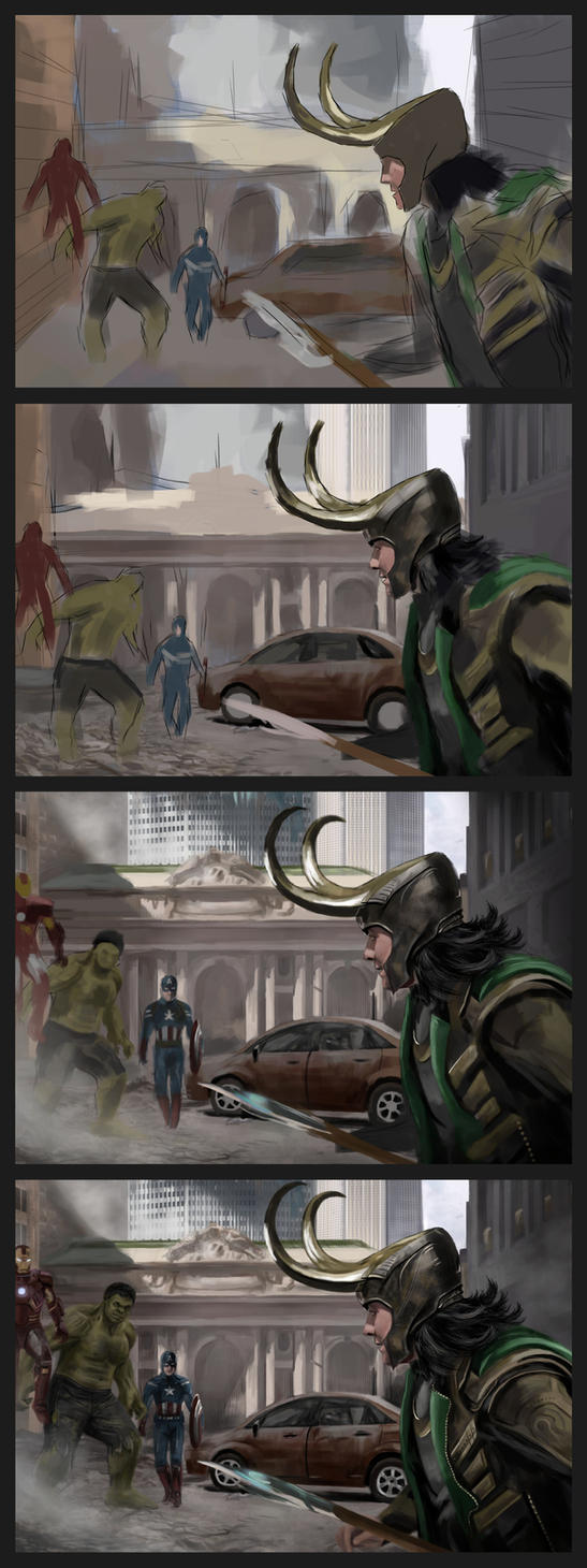 The Avengers Tutorial by White-Night-56