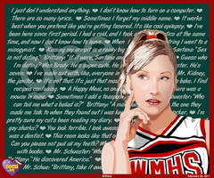 Brittany S. Pierce by DomiSM