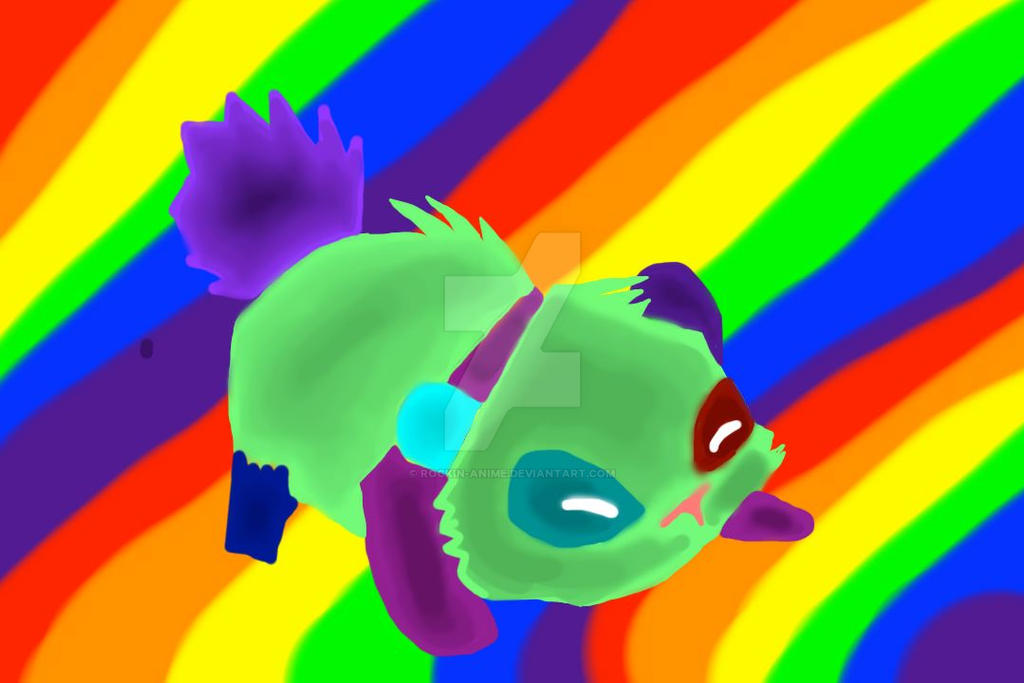 colorful panda by rockin anime on deviantart