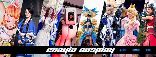 Enayla Cosplay - Portfolio Header