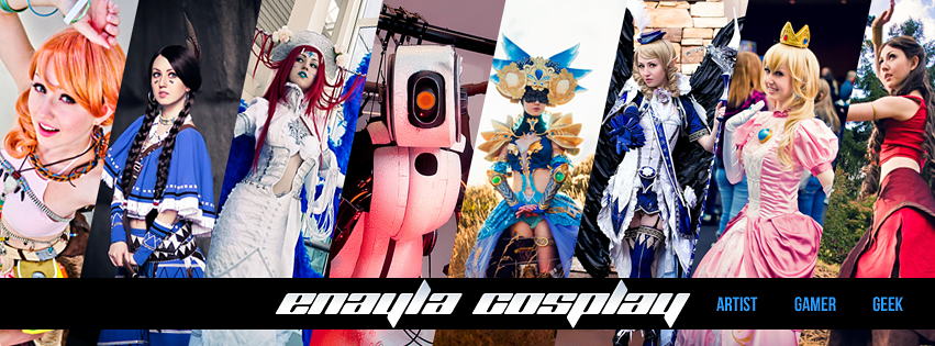 Enayla Cosplay - Portfolio Header by elliria