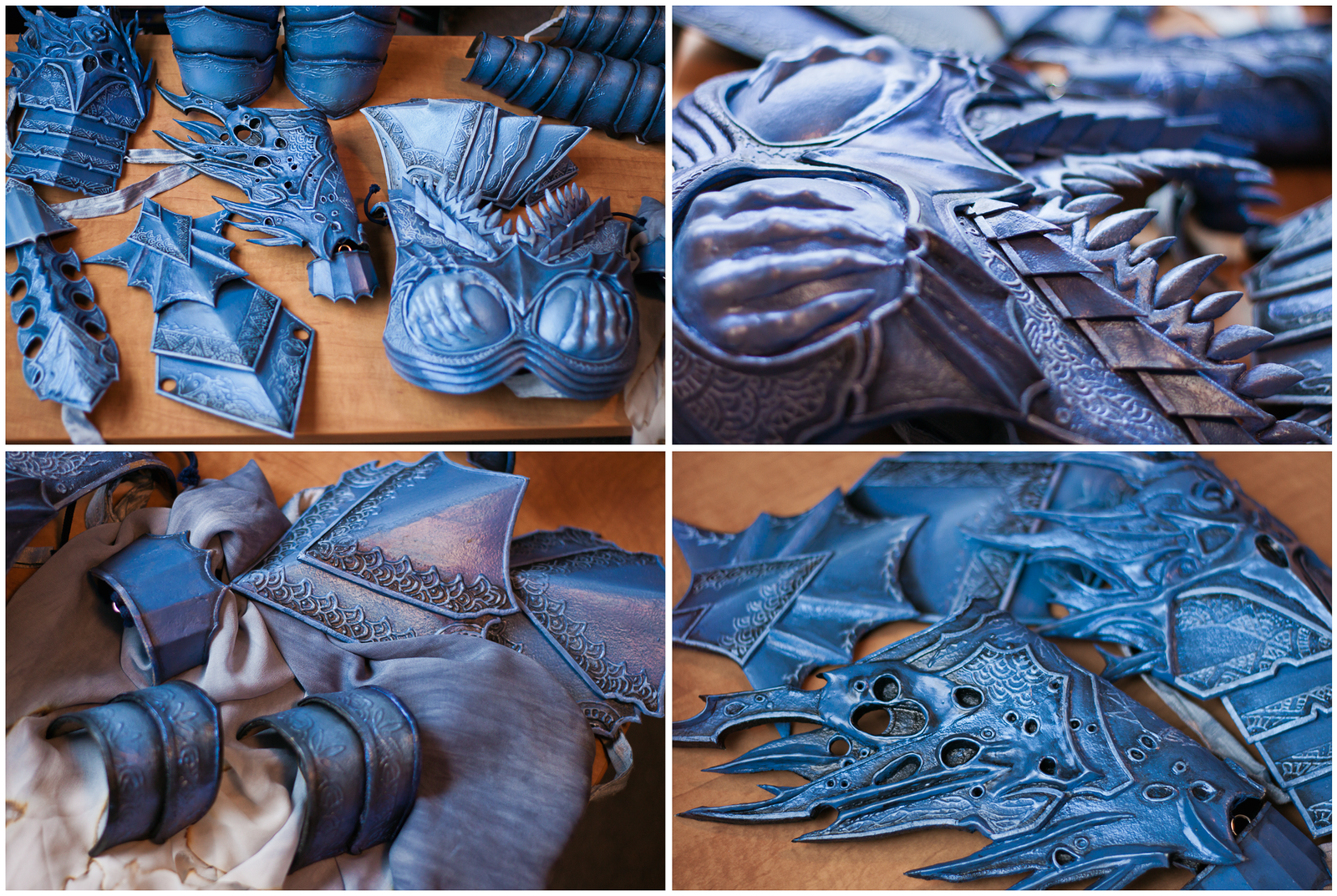 Guild Wars 2 - Orrian Armor (Progress) by elliria