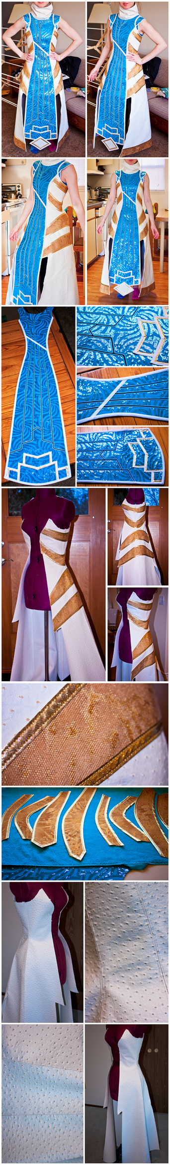 Guild Wars 2 - Asura CoE Progress by elliria