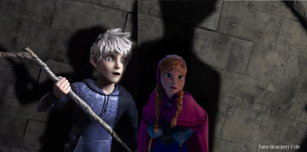 Jack Frost Scared Jack And Anna Scared by