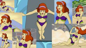 daphne blake in her bikini for ginzo25