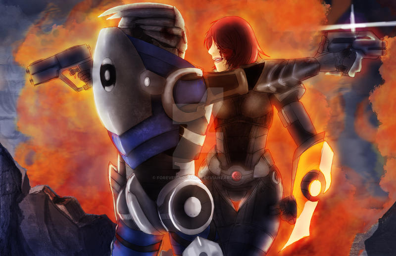 No Shepard without Vakarian by Forever-Nocturne