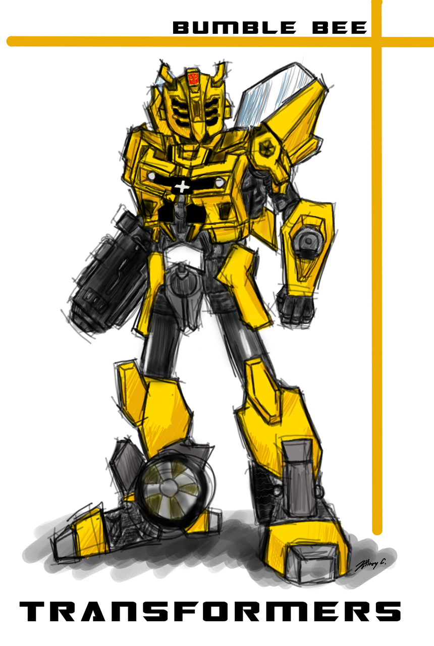 transformers bumble bee by jc 790514 on deviantart. Black Bedroom Furniture Sets. Home Design Ideas