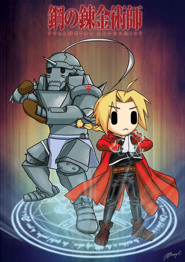 Chibi Fullmetal Alchemist by JC-790514