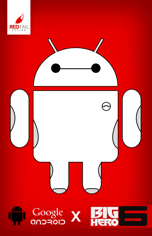 Google Android X Big Hero 6 Baymax by JC-790514