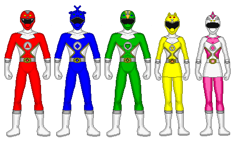 Power Rangers Primal Genesis by Gekiblack