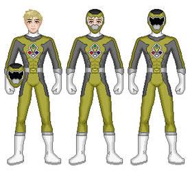 Brass Astro Ranger by Gekiblack