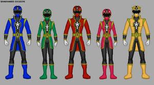 Power Rangers Warriors Legacy