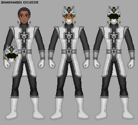 Power Rangers Warriors Legacy: Prism Legacy Ranger by Gekiblack