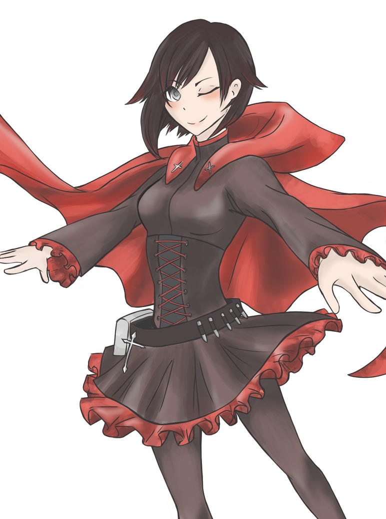 Ruby Rose by LlamaRider