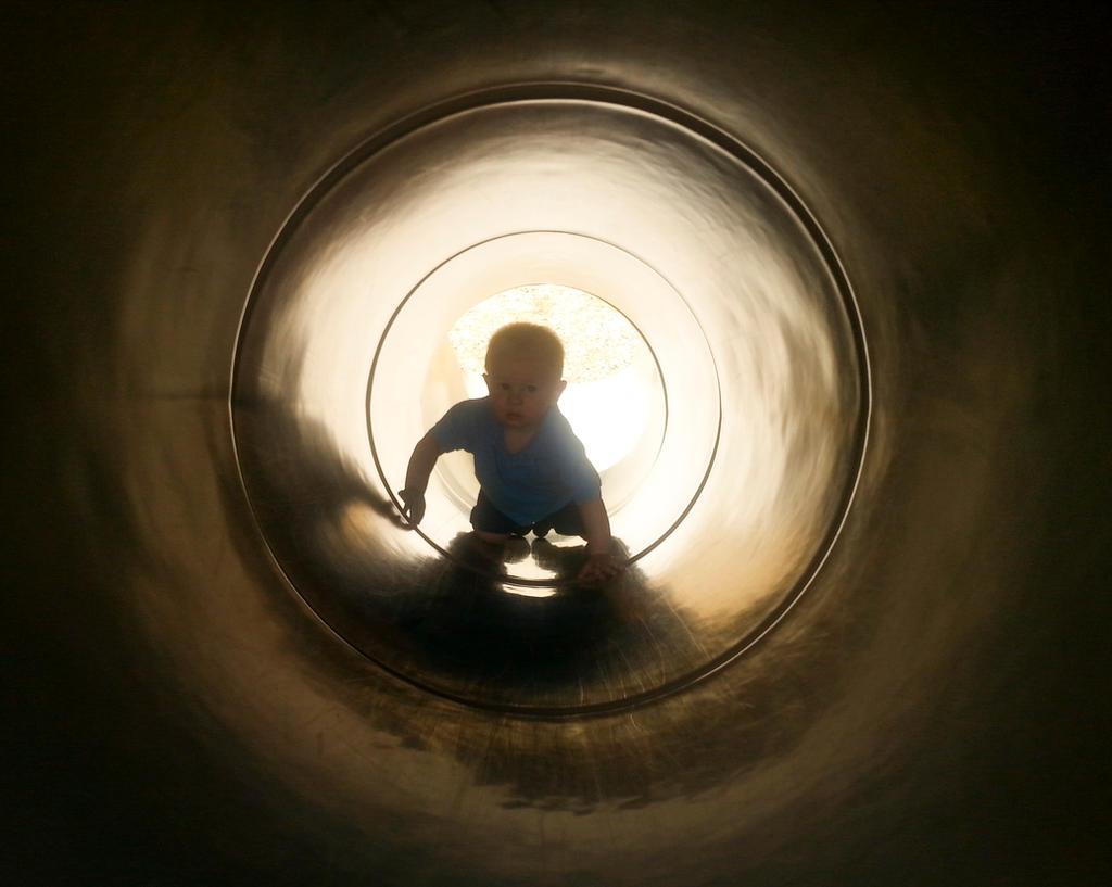 Jacob in tunnel by MrDannyD