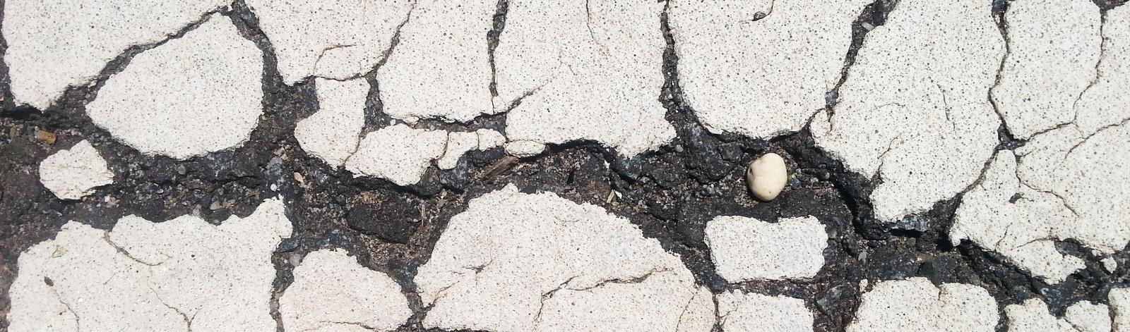 A broken road by MrDannyD