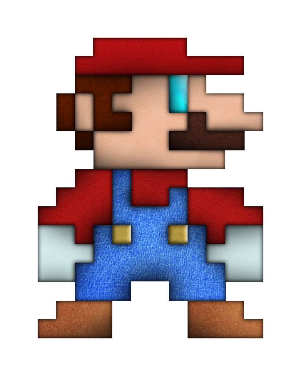 Real life 8 bit mario by brulescorrupted on deviantart - Pictures of 8 bit mario ...