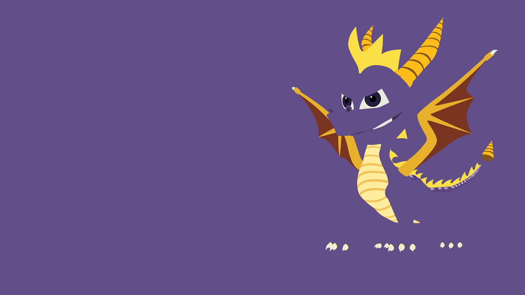 Spyro Minimalist Wallpaper By Brulescorrupted On Deviantart