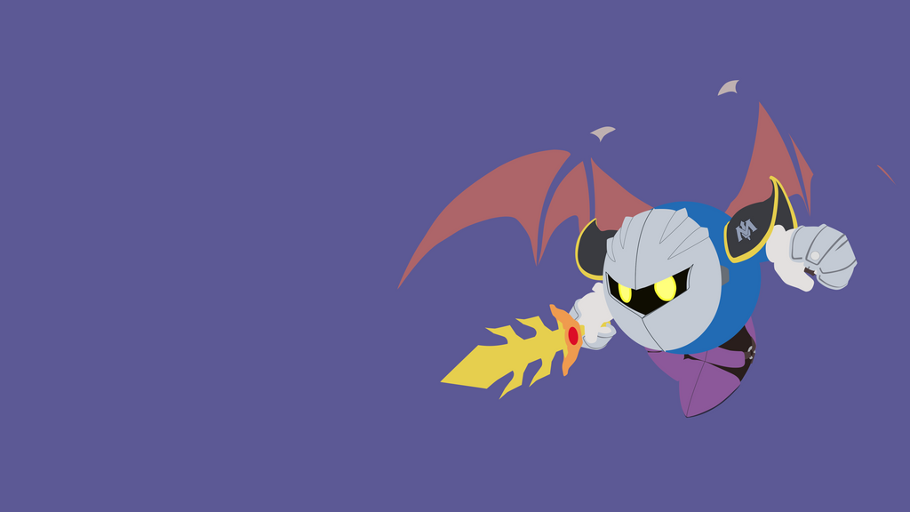 Meta Knight Minimalist Wallpaper by BrulesCorrupted on ...