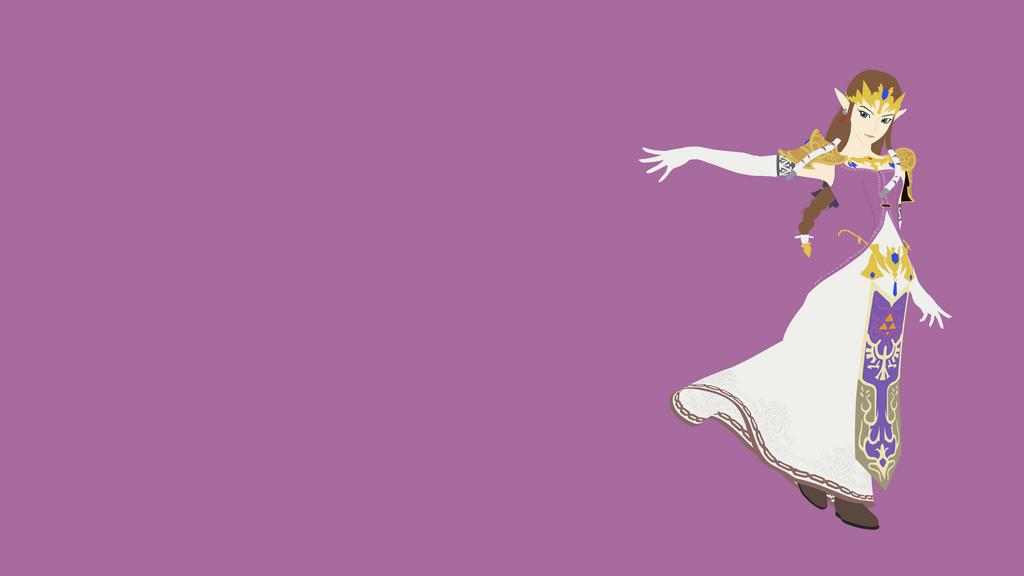 Princess Zelda Minimalist Wallpaper by BrulesCorrupted on ...