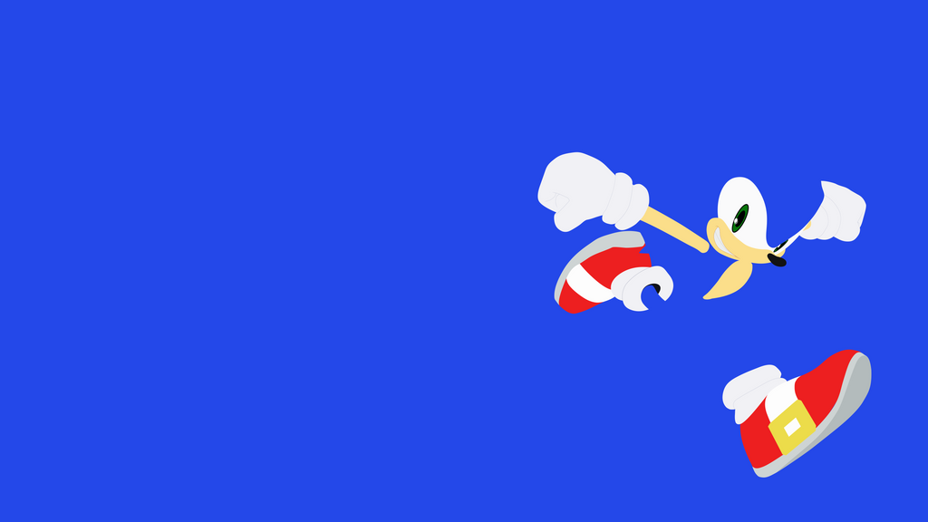 Sonic minimalist wallpaper by brulescorrupted on deviantart for Minimal art reddit