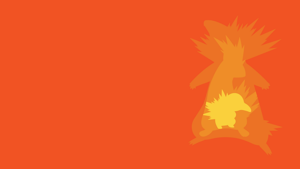 Cyndaquil Evolution Line Minimalist Wallpaper by BrulesCorrupted on ... Cyndaquil Wallpaper