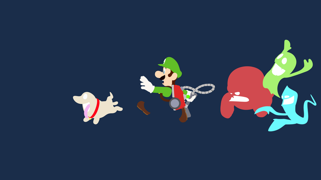 Luigis Mansion Dark Moon Minimalist Wallpaper By BrulesCorrupted