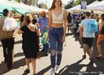 8'4'' Alexis Walks The Crowd