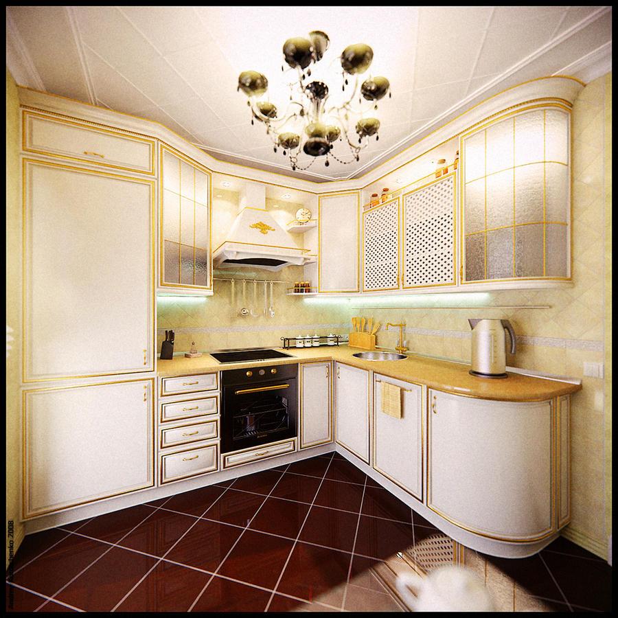 - Ostrovskogo Kitchen 1 -