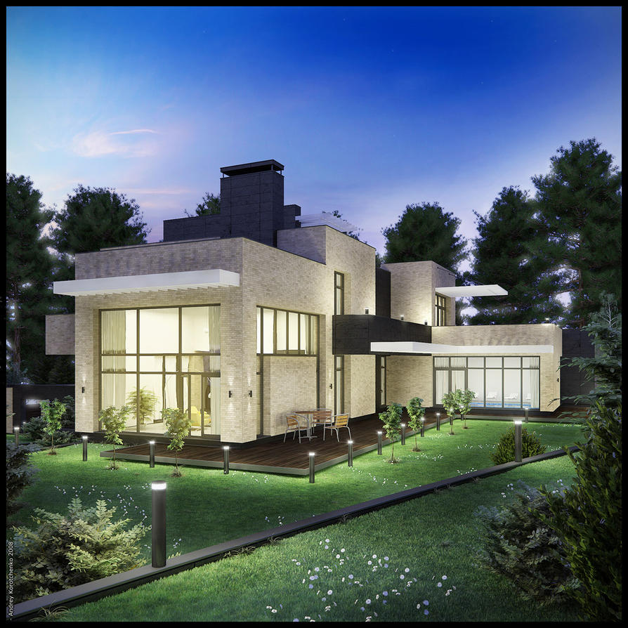 Vita pochtovaja house 4n by leandreko on deviantart for Vita house