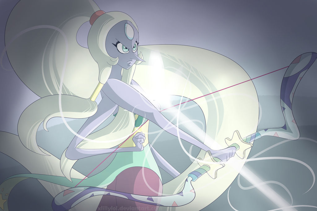 Yup, another SU fanart. I'm going mad with these Opal © Steven Universe by Rebecca Sugar