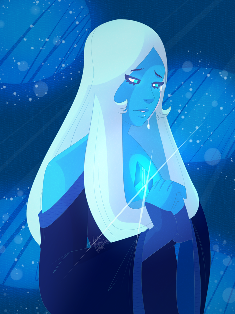 I took my time xD I've been wanting to draw her for ages! Speedpaint: www.youtube.com/watch?v=H9qv1Y… Blue Diamond © Steven Universe. I do not own this character. Art by me