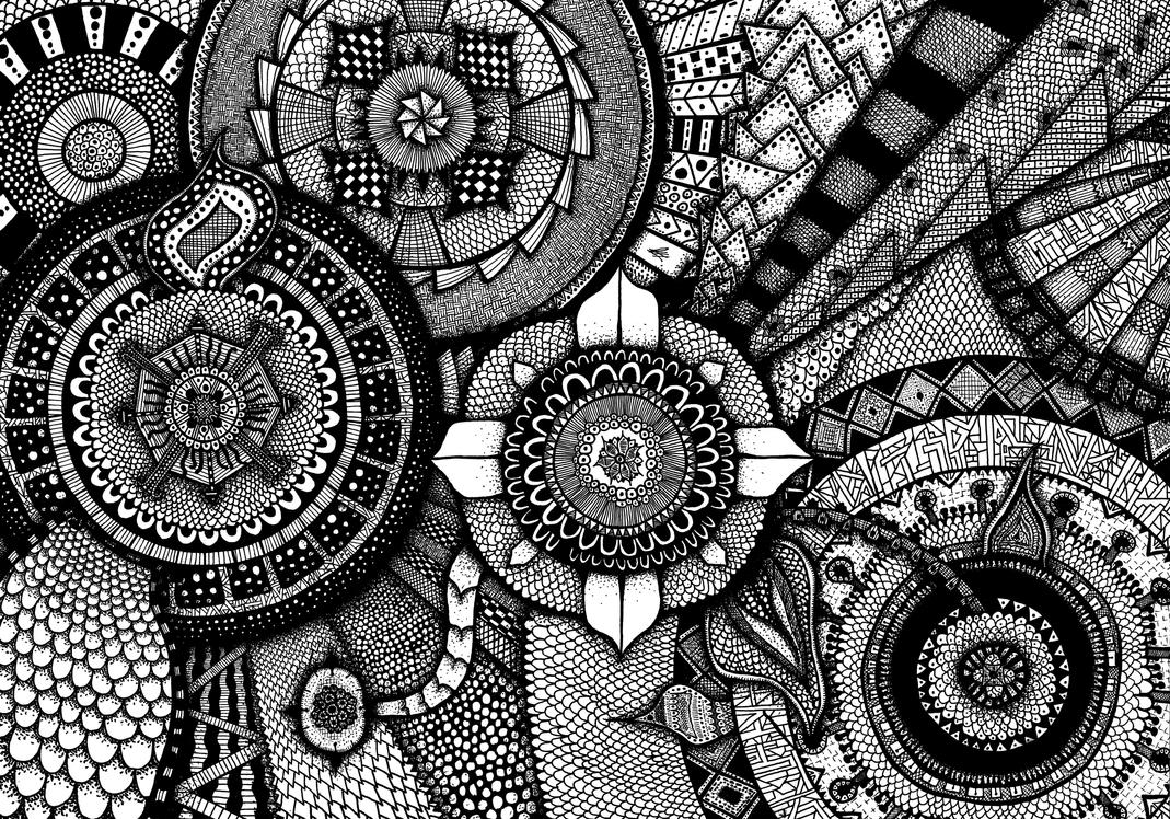 Mandalascape by TheMrDoodle
