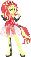 Vector #5 - Sunset Shimmer by WhalePornoz