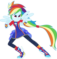 Vector #7 - Rainbow Dash by WhalePornoz
