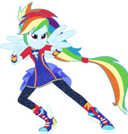 Vector #7 - Rainbow Dash