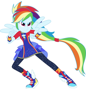 Vector #7 - Rainbow Dash
