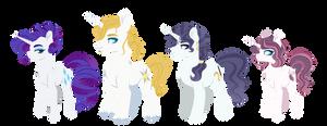 NextGen - Rarity's family lineup