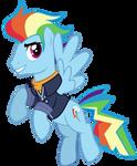 Vector 40 - Genderbent future Rainbow Dash by WhalePornoz
