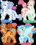Seasons inspired pony adoptables [OPEN]