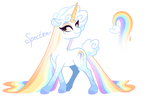 Cute rainbow horsie adoptable [CLOSED]