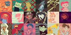 18 Cartoon Protagonist Challenge by Eleanorose123