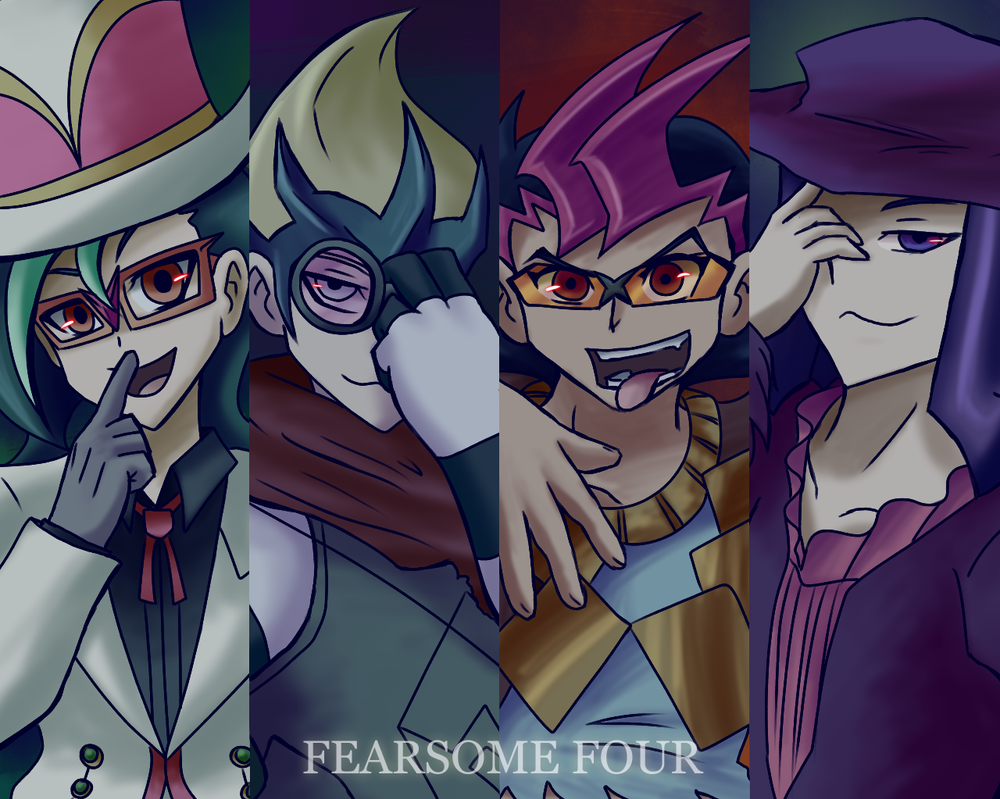 Fear the Four by Eleanorose123
