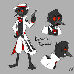 DWD - Domino by Eleanorose123