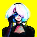 2B Cyberpunk