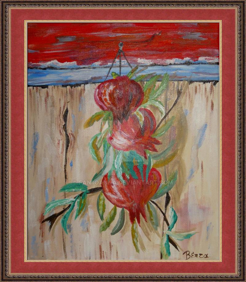 Pomegranates by FaniIoanna