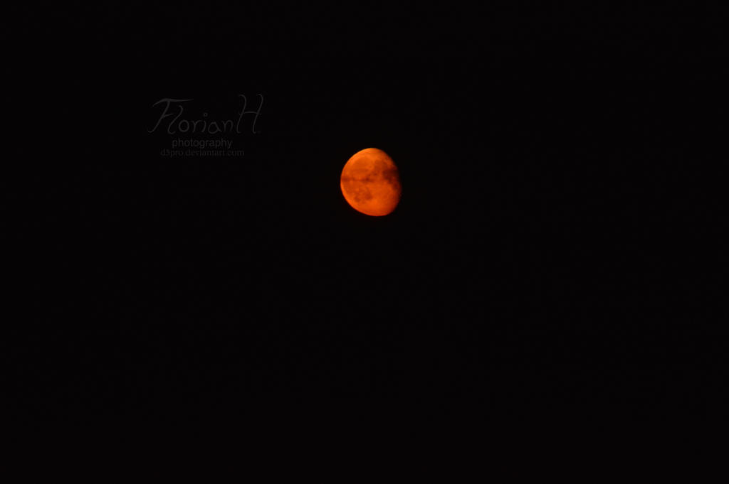 Blood moon by D3PRO