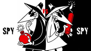 Spy vs. Spy PSP Wallpaper