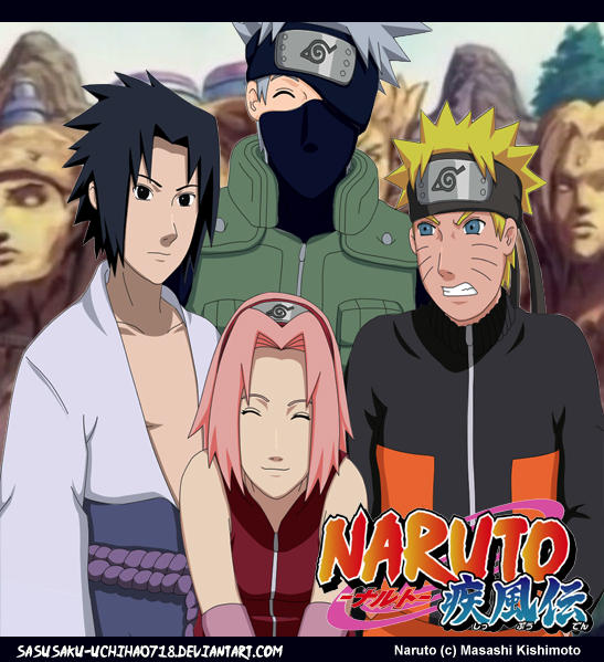 Old Team 7, New picture.. by sasusaku-uchiha0718